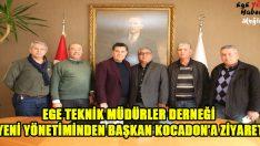Yeni Yönetimden Başkan Kocadon'a Ziyaret