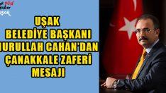 Başkan Cahan'dan Çanakkale Zaferi Mesajı