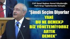 Kılıçdaroğlu Erken Seçim Çıkışına Cevap Verdi