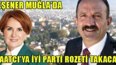 Akşener, Fethiye Belediye Başkanı Saatcı'ya Rozet Takacak