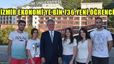 İzmir Ekonomi'ye Bin 736 Yeni Öğrenci