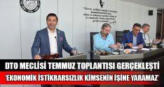 """Başkan Erdoğan, DTO Meclisi'nde İş Dünyasına Seslendi: """"Biz, İşimize Bakalım!"""""""