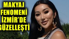 Dünyaca ünlü makyaj fenomeni Thuy Le, İzmir'de güzelleşti