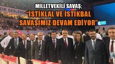 Mustafa Savaş, AK Parti 6.Olağan Kongresini Değerlendirdi
