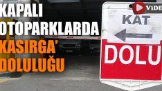 """""""Kırbaç Kasırgası"""" nedeniyle İzmir'de otoparklar doldu taştı"""