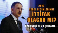 AK Parti ve MHP Yerel Seçimde İttifak Kuracak Mı?