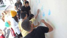 ADÜ Rekreasyon bölümü öğrencilerinden 'Çiz, Oyna, Eğlen' projesi