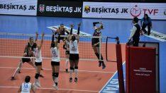CEV Challenge Kupası Beşiktaş: 3 Aydın Büyükşehir Belediyesi: 1