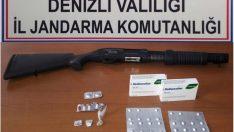 Denizli'de uyuşturucu operasyonunda 3 kişi tutuklandı