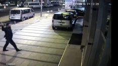 Sabıkası yüzünden taksici olamayınca dehşet saçtı