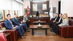 Sayıştay Başkanı Seyit Ahmet Baş Uşak'ta konferansa katıldı