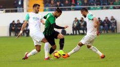 Spor Toto Süper Lig: Akhisarspor: 2 – Bursaspor: 1 (İlk yarı)