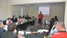 Antrenör ve tesis personellerine yönelik ilk yardım eğitimi