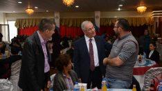 Dinar Belediyesinden engelli vatandaşlar onruna yemek