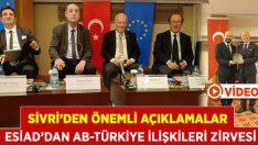 ESİAD'dan Avrupa Birliği Türkiye İlişkileri Zirvesi