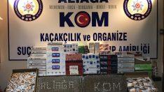 İzmir'de sigara kaçakçılarına darbe