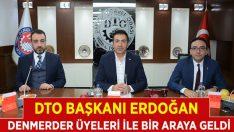 DTO Başkanı Erdoğan, Mermercilerle Bir Araya Geldi