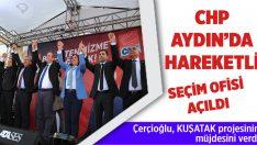 Çerçioğlu ve Günel seçim ofisini birlikte açtı