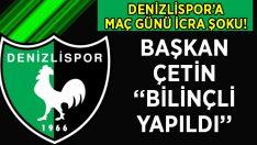 Denizlispor'a Maç Günü İcra Şoku