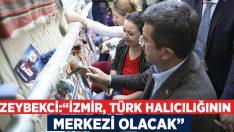 """Zeybekci:""""İzmir, Türk halıcılığının merkezi olacak"""""""