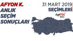 Afyonkarahisar Türkiye Mahalli İdareler Yerel Seçim Sonuçları