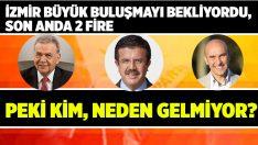 İzmir Büyük Buluşmayı Bekliyordu, Son Anda 2 Fire