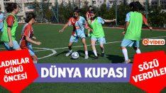 Denizli'de Futbolcu Kızlar Profesyonel Futbolculara Taş Çıkartıyor!