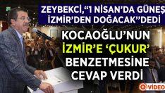 Zeybekci'den Kocaoğlu'nun Sözlerine Cevap