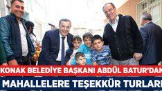 Başkan Batur, Teşekkür Turlarına Başladı