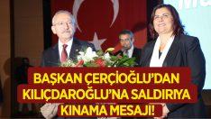 Başkan Çerçioğlu'ndan 'Kınama' Mesajı