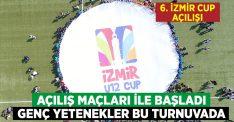 Uluslararası U12 İzmir CUP'ta görkemli başlangıç