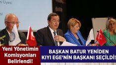 Başkan Batur, yeniden Kıyı Ege'nin Başkanı!