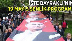 İşte Bayraklı Belediyesi'nin 19 Mayıs Programı!