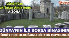 Dünya'nın İlk Borsa Binasının Türkiye'de Olduğunu Biliyor Muydunuz?
