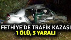 Fethiye'de trafik kazası: 1 ölü 3 Yaralı