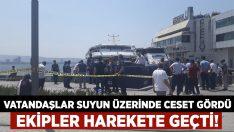İzmir'de Denizde Ceset Bulundu!