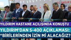 Yıldırım, İzmir'de Hastane Açtı