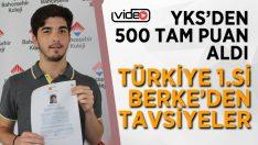 YKS Türkiye 1.sinden Tavsiyeler