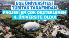 EÜ, TÜBİTAK tarafından en çok projesi desteklenen 4. üniversite oldu