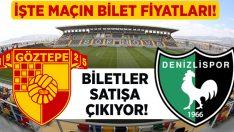 Göztepe – Denizlispor bilet fiyatları belli oldu!