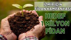 İzmir İçin Hedef 1 Milyon Fidan