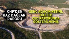 Kaz Dağları ÇED Raporunun İptalini İstediler