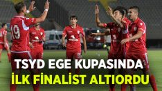 TSYD Ege Kupasında ilk finalist Altınordu