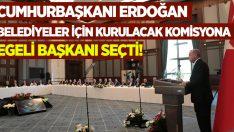 Cumhurbaşkanı Erdoğan kurulacak komisyona Egeli başkanı seçti!
