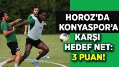 Horoz'da hedef Konyaspor karşısında net: 3 Puan!