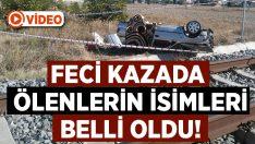 Denizli Bozkurt'taki tren kazasında Ender Korkmaz ve Sebahat Korkmaz hayatını kaybetti!