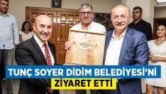 Tunç Soyer Didim Belediyesi'ni Ziyaret Etti