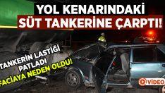 Aydın Karacasu'da facia gibi kaza! İbrahim Meral olay yerinde yaşamını yitirdi!