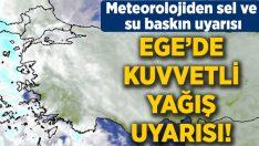 Dikkat kuvvetli yağış uyarısı! İzmir, Denizli, Aydın, Muğla, Afyon, Kütahya, Uşak, Manisa hava durumu