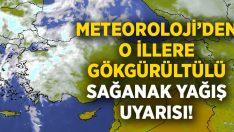 Ege'ye gökgürültülü sağanak yağış uyarısı! Denizli, İzmir, Aydın, Uşak, Afyonkarahisar, Kütahya, Manisa ve Muğla Hava Durumu